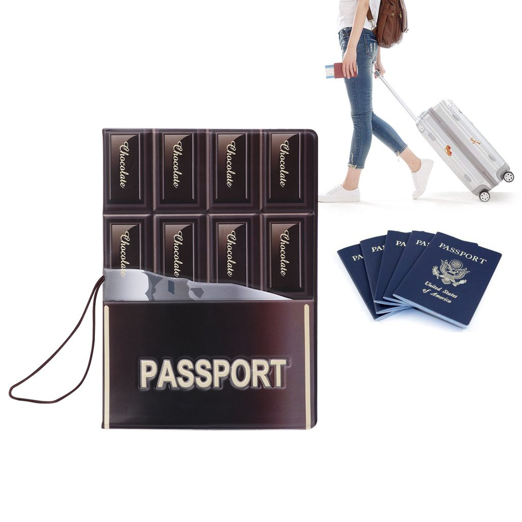 SimpleLif Passport Cover Holder Passport Cover Case Travel Utility Passport ID Card Cover Holder Case Protector