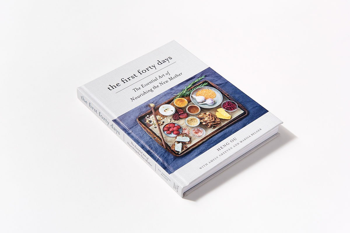 The First Forty Days: The Essential Art of Nourishing the New Mother by Abrams