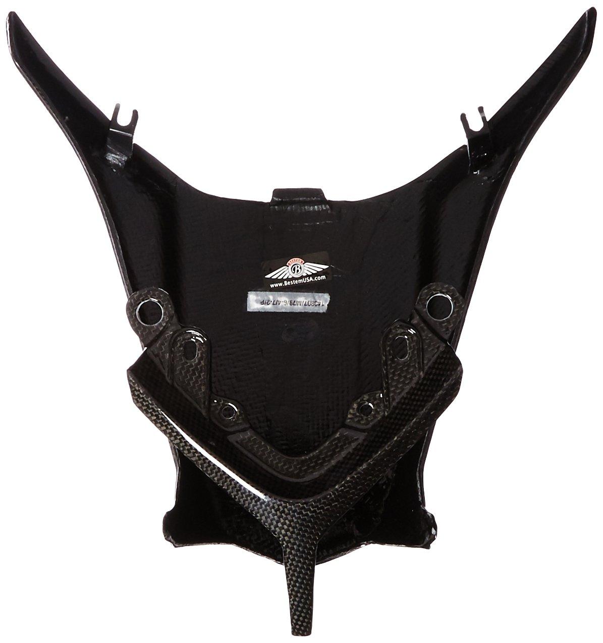 Bestem CBMV-F410-STC Black Carbon Fiber Seat Tail Cover for MV Agusta F4 2010