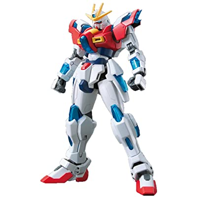 Bandai Hobby HGBF 1/144 Kit de construction Burning Gundam de « Gundam Build Fighters Try »