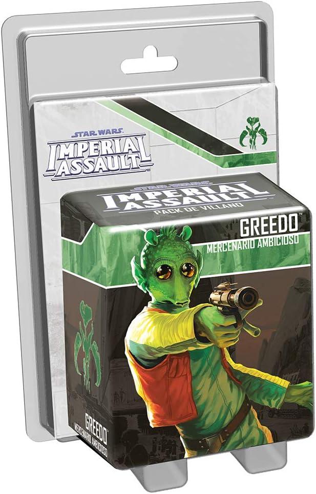 Fantasy Flight Games Star Wars-Imperial Assault: Greedo-Español, Color (FFSWI31)