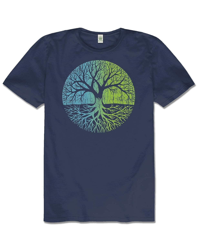 ebeaace8 Soul Flower Men's Tree of Life Hemp T-Shirt | Amazon.com