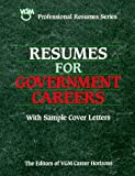 Resumes for Government Careers, VGM Career Books Staff, 084424158X