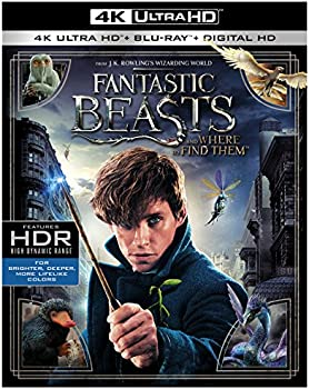Fantastic Beasts & Where to Find Them (4K + Blu-Ray + Digital)
