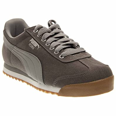 Puma Roma Waxed Denim Men US 7 Gray Sneakers  Buy Online at Low Prices in  India - Amazon.in fbec1844ca3