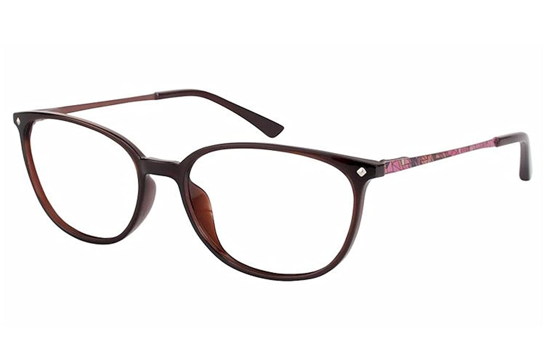 Aristar by Charmant Eyeglasses AR18431 AR//18431 535 Brown Optical Frame 51mm