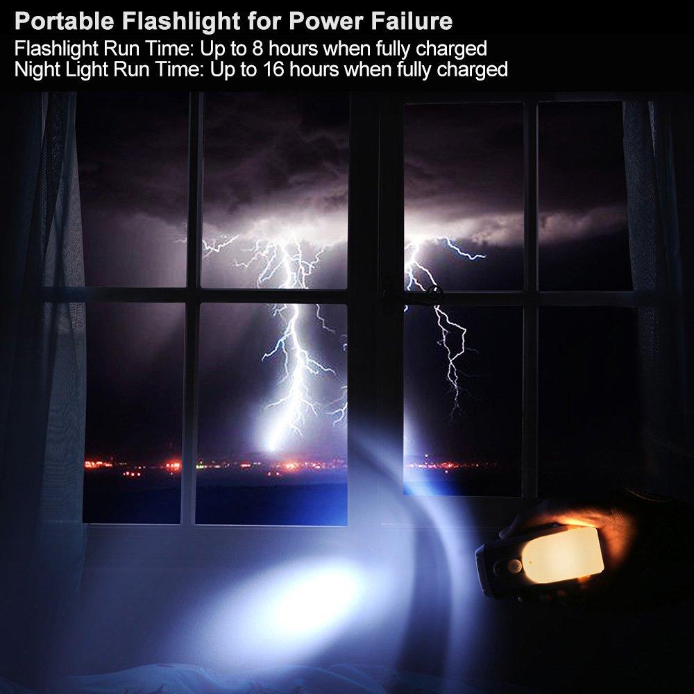 Galleon Dewenwils Rechargeable Led Emergency Flashlight