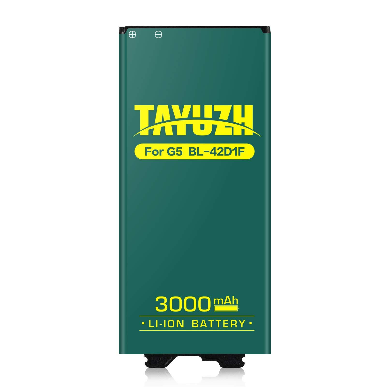 Bateria Celular Lg G5 Tayuzh 3000mah Li Ion Para Lg G5 Bl 42d1f H820 Ls992 H830 Vs987 Us992 H845 Dual H850 H858 Spare 24