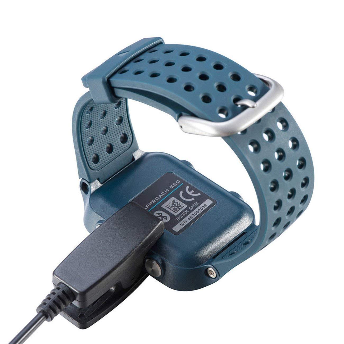 Elviray Cargador de Clip USB Reloj Inteligente Cuna de Carga ...