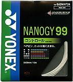 ヨネックス(YONEX) ガット バドミントン用 ナノジー99 単張りガット NBG99