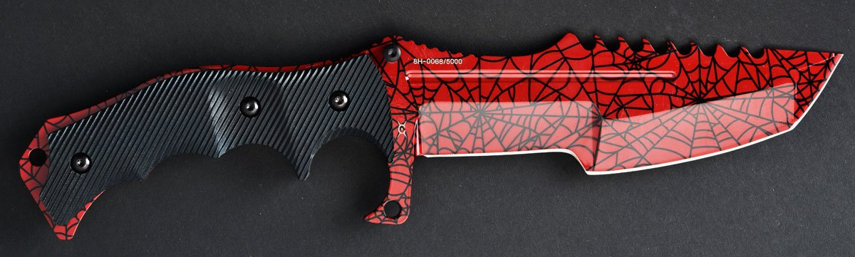 fadecase Huntsman - Crimson Web - De Real CSGO Knife Skin ...