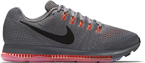 d1c1ba3aa4b4f Nike Men s Zoom All Out Low Dark Grey Black Total Crimson Nylon Running  Shoes