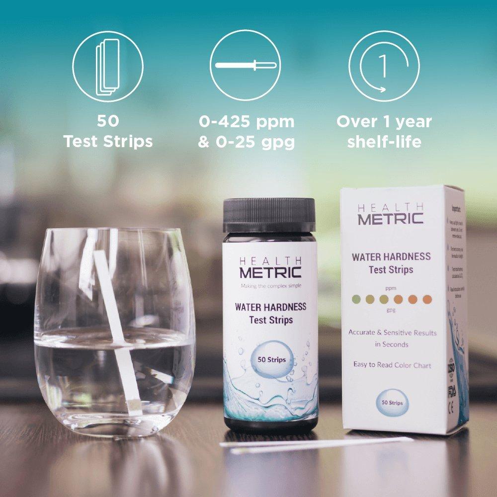 Tiras de prueba de la dureza del agua - Kit de prueba rápida y ...