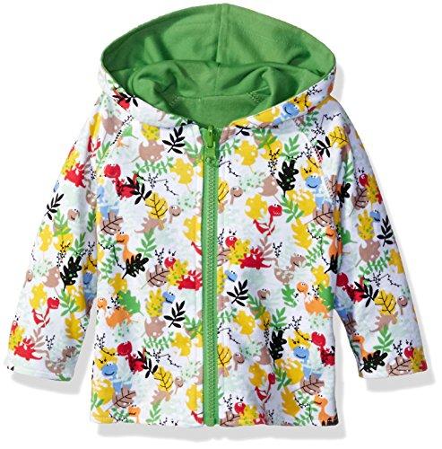 Zutano Baby Printed Reversible Jacket, Dino Camo, 12 - Camo Zutano