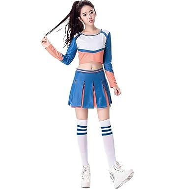 Babyicon Damen Cheerleader Fussball Kostume Uniform