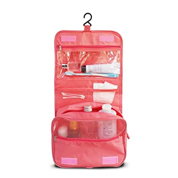 267958906054 CORO Hanging Toiletry bag- Large Waterproof Cosmetic Makeup Travel Organizer  for Men   Women with
