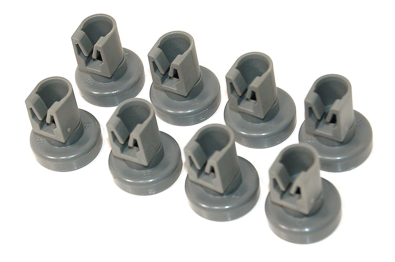 Dishwasher Upper Basket Wheels For Electrolux SL6124, ESL6125, ESL6142, ESL6115 KGA-SUPPLIES