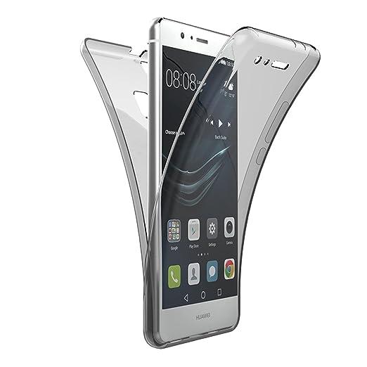6 opinioni per Custodia per Huawei P9 Lite , GrandEver 360° Full Body Ultra Sottile Gel