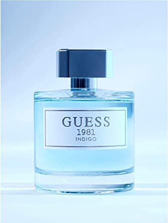 Guess 1981 Indigo Eau de Toilette Spray for Women, 3.4 Ounce, Blue, NS