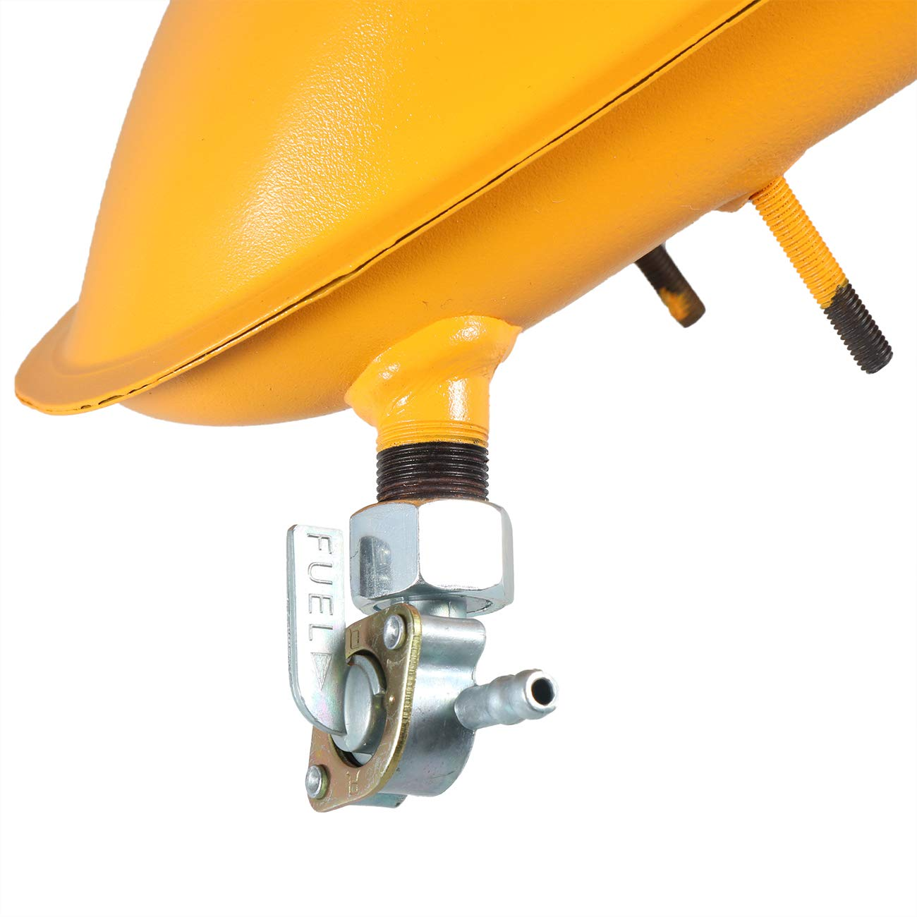sthus Yellow 2L Fuel Gas Tank For 2//4 Stroke 80cc 60cc 66cc 49cc Engine Motorized Bicycle