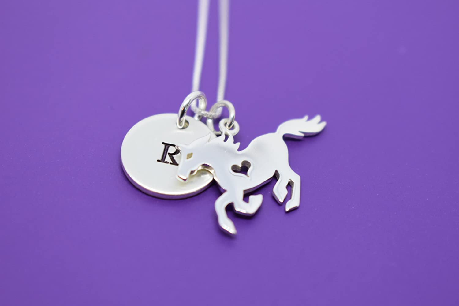 Horse Memorial Pendant Necklace Horse Lover Necklace Personalized Horse Lover Gifts