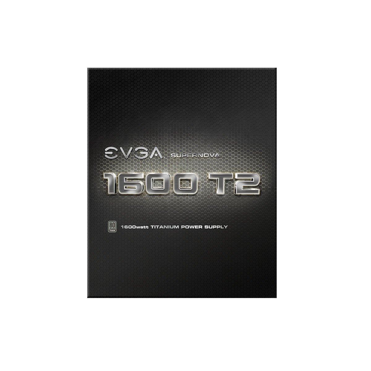 10 anni Garanzia Alimentazione PC 220-T2-1000-X2 Fully Modular EVGA SuperNOVA 1000 T2 include il tester automatico-Alimentazione GRATUIT EVGA ECO Modo 80+ TITANIUM 1000W