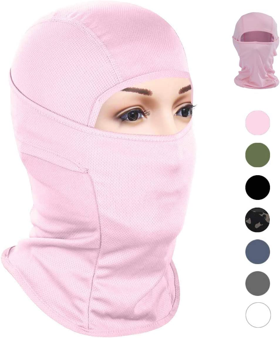 Outdoor Tactical Training BDSMAGE Balaclava Ski Mask Motorcycle Hood Face Mask UV Protection Windproof Fishing Face Cover for Skiing Cycling Running Motorcycle Fishing