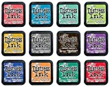 Ranger Tim Holtz Bundle of 12 Distress Ink Pads | 2015 Colors of the Month