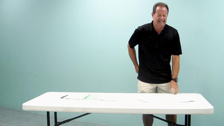 Amazon.com: Lift Your Table Folding Table Risers Extenders STRAIGHT LEG  KIT... Save Your Back!: Home Improvement