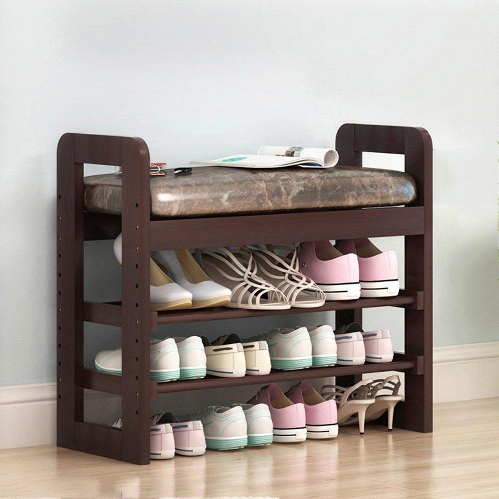 EIDUOシューズラック 家族の廊下の靴のラックは、靴のベンチとして使用することができますソリッドウッド71 X 30 X 60 Cm 自宅に適しています (色 : 3, サイズ さいず : 71*30*60cm) B07DJT5NJY 71*30*60cm|3 3 71*30*60cm