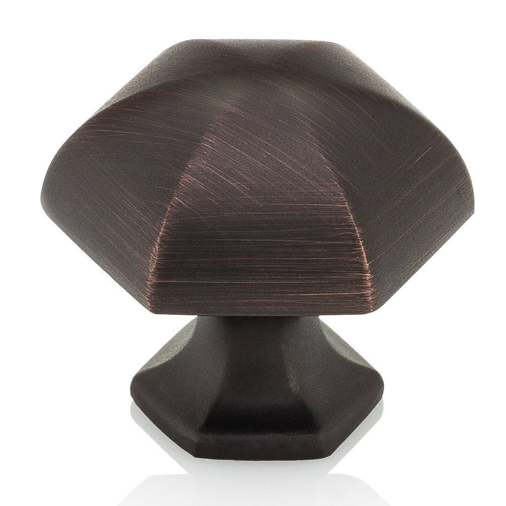 Southern Hills Oil Rubbed Bronze Cabinet Knobs - Pack of 5 - Kitchen Cupboard Knobs Cabinet Hardware - Drawer Pulls SHKM023-ORB-5