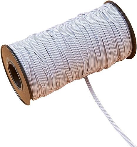 3 mm x 180 m cordón elástico hilo para coser y recortar elástico ...