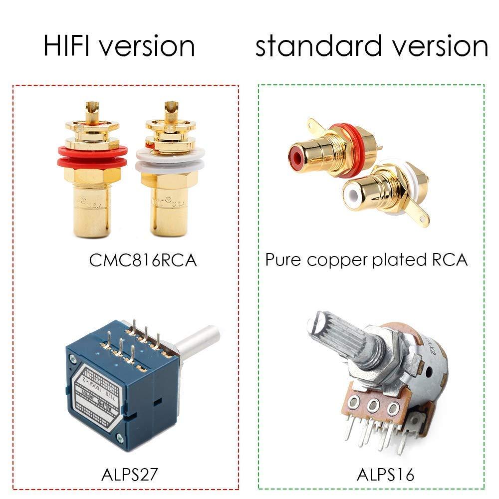 nobsound High Precision Passive Preamp Volume Controller Vol Control Hi-Fi Preamplifier Alps