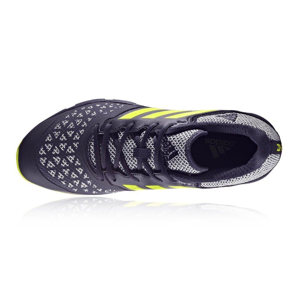 premium selection d5ed6 8c31a adidas Zone DOX Scarlet Aqua Hockey Schuh - SS18 Amazon.de Schuhe   Handtaschen