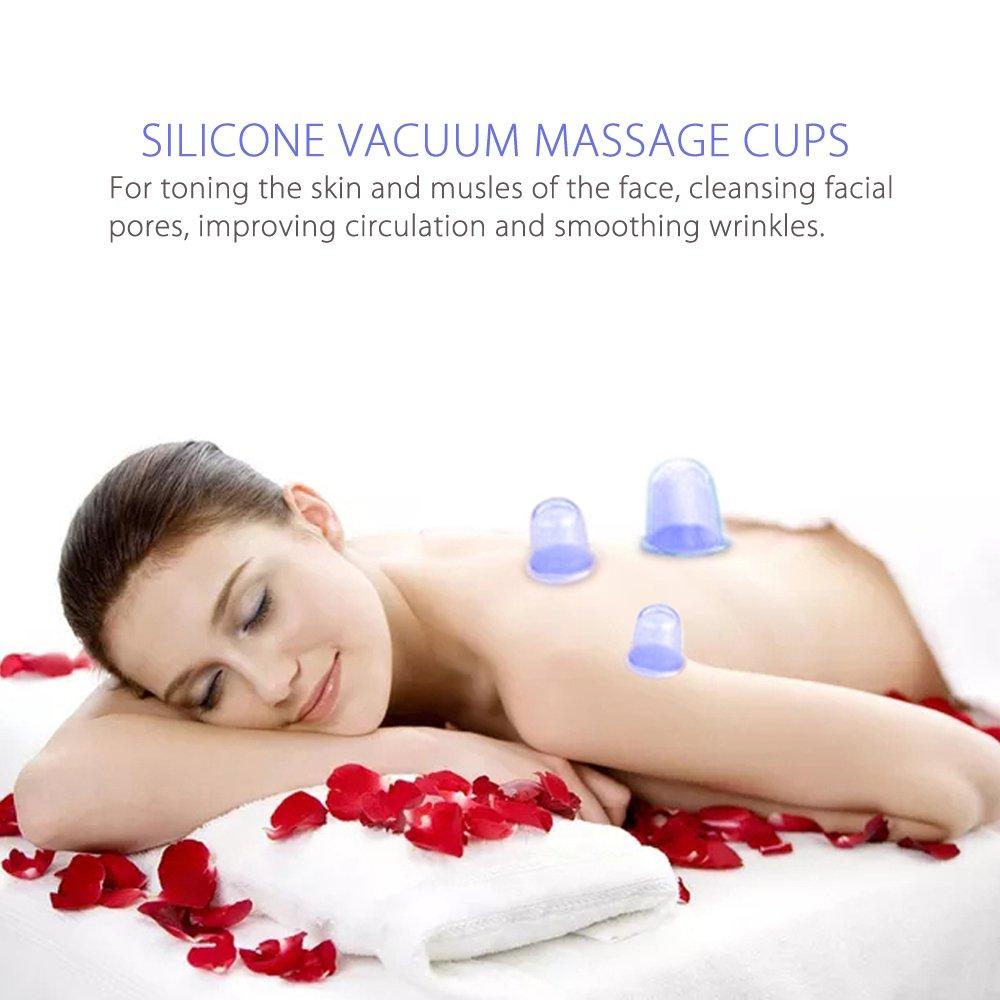 amazon com imbuty anti cellulite cupping therapy set body massage