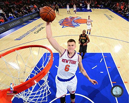 Kristaps Porzingis New York Knicks NBAアクション写真(サイズ: 16