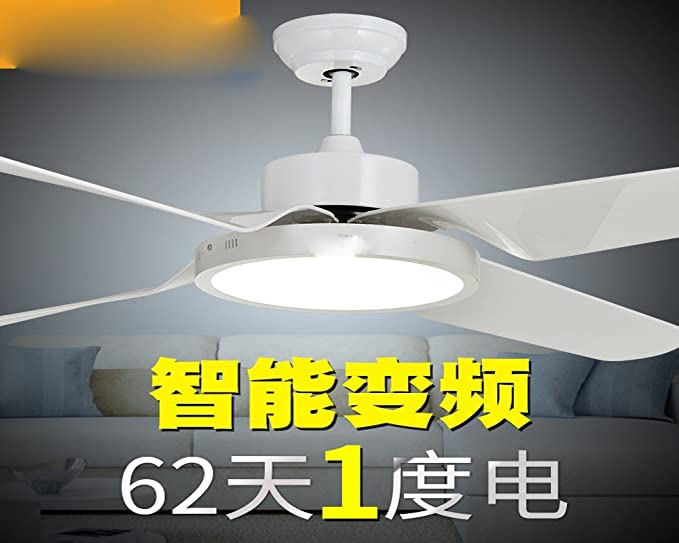 Sdkky Living Room Remote Control Ceiling Fan Led Bedroom Home Modern Minimalist With Fans