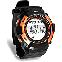 Pyle PSPTR19OR Digital Multifunction Sports Wrist Watch - Smart Fit Classic Men Women Sport Running Training Fitness…
