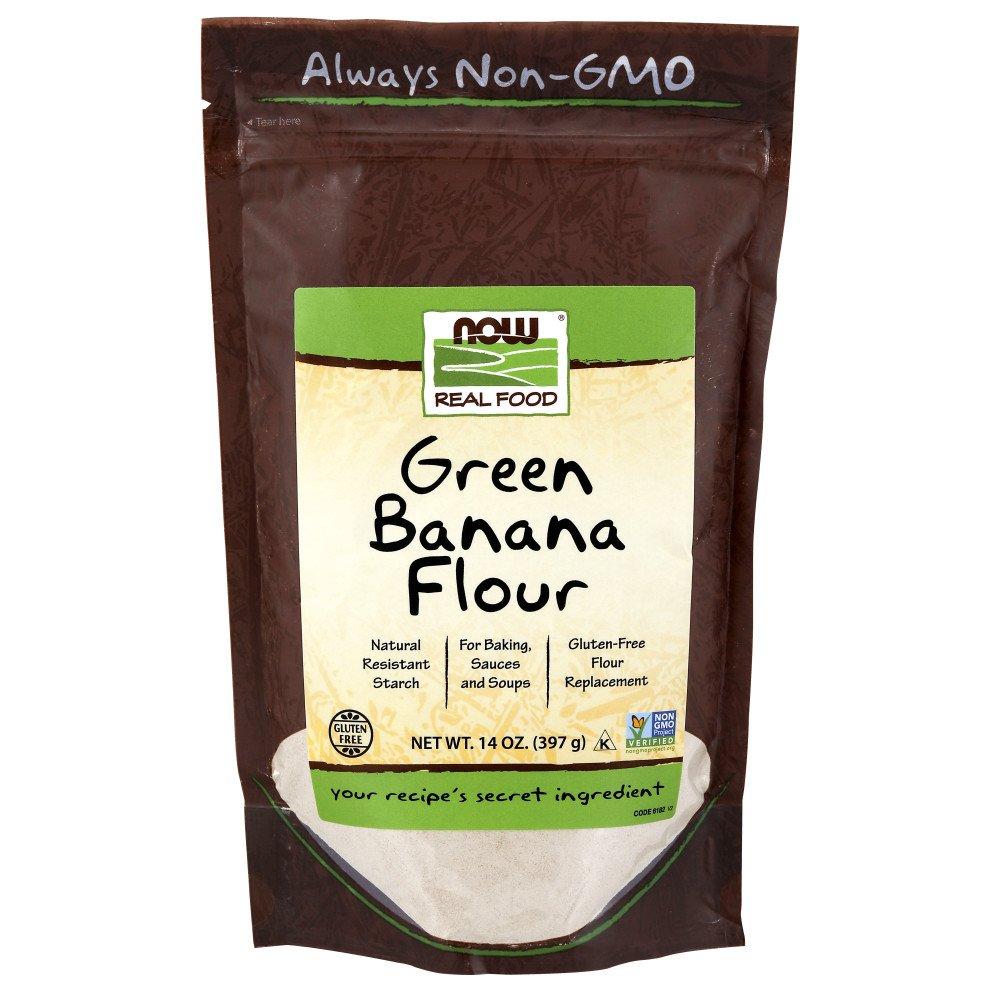 NOW Foods Green Banana Flour,14-Ounce