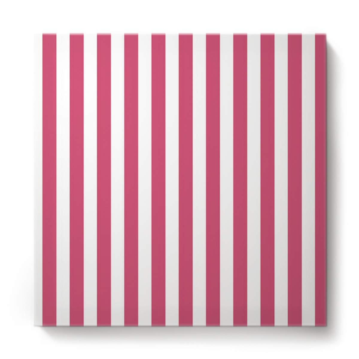 正方形キャンバスウォールアート 油絵 寝室 リビングルーム ホーム装飾 カラフルな水波模様 オフィスアートワーク 木製フレームで枠張り済み すぐに掛けられる 20 x 20 Inch 201810220NAAYAGYAGGSLEO01061NAACYAG 20 x 20 Inch Stripe40yag4316 B07M96FDTK