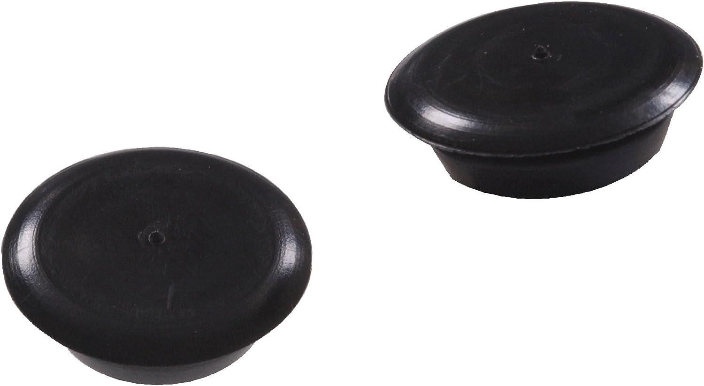 The Hillman Group 58185 7//8-Inch Black Nylon Flush Button Plug 15-Pack