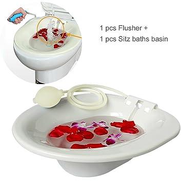 Amazon.com : Sitz Bath Hip Bath Tub Flusher Bath Basin Fumigation ...