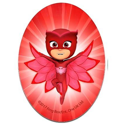 Parches - PJ MASKS Héroes en pijamas OWLETTE Disney - rojo - 11 x 8 cm