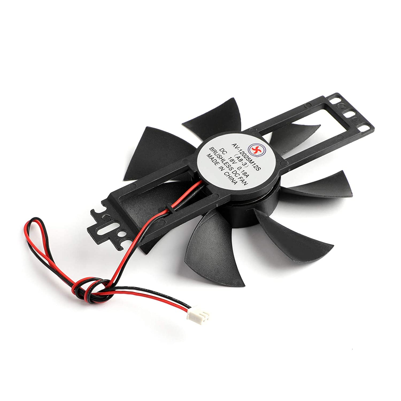 Areyourshop 5PCS DC 18V Cooling Fan 9025S 90/×25mm for Induction Cooker Brushless Plastic