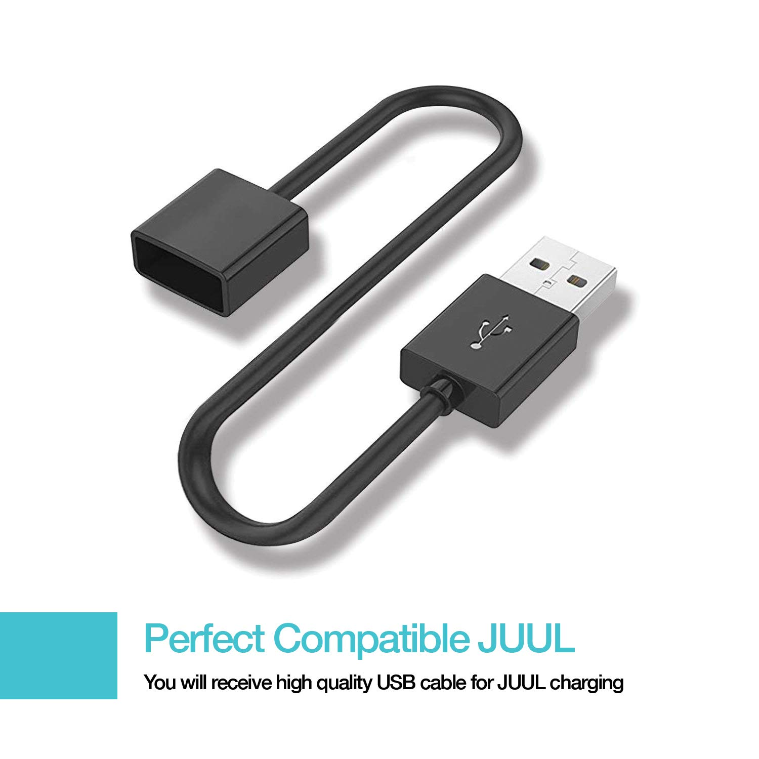 2.6 Ft Cord Magnetic Charger USB Cable 2 Pack
