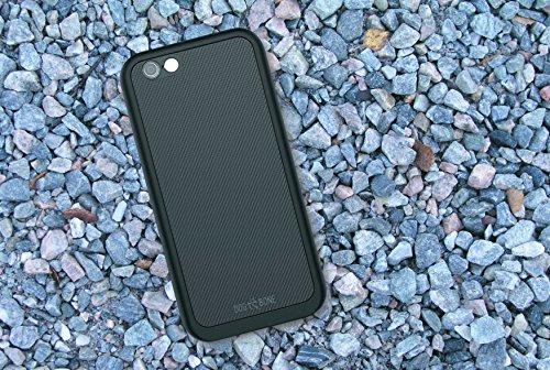 Dog & Bone Wetsuit Impact - Rugged, Waterproof iPhone 6, iPhone 6s Case - Blackest Black