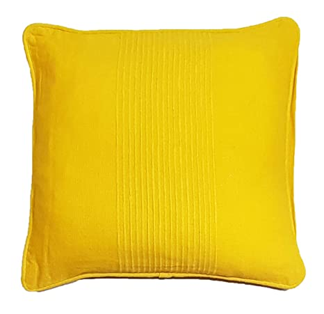 Duffi Home Funda cojín, Amarillo, 45 x 45 cm: Amazon.es: Hogar