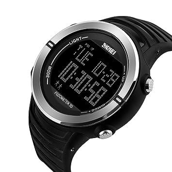 IKVRU SmartWatch para Hombres, Relojes Militares Reloj de ...