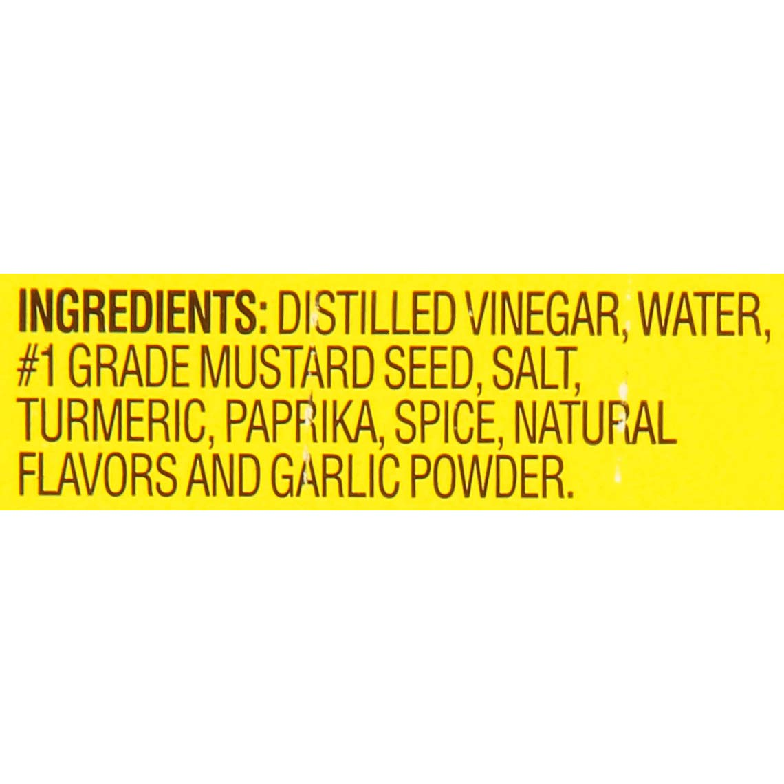 French's Classic Yellow Mustard, 100% Natural 105 oz (Pack of 5) by French's