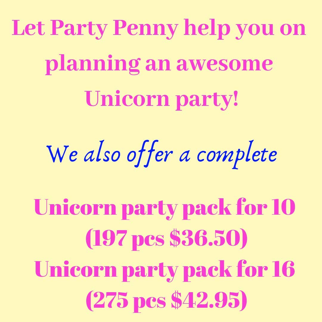 Unicorn Party Cups Keepsake Decorations - Unicorn Gifts for Girls - Unicorn  Birthday Party Favor for Kids| Rainbow Plastic 12 Oz| Pack of 8| Unicorn